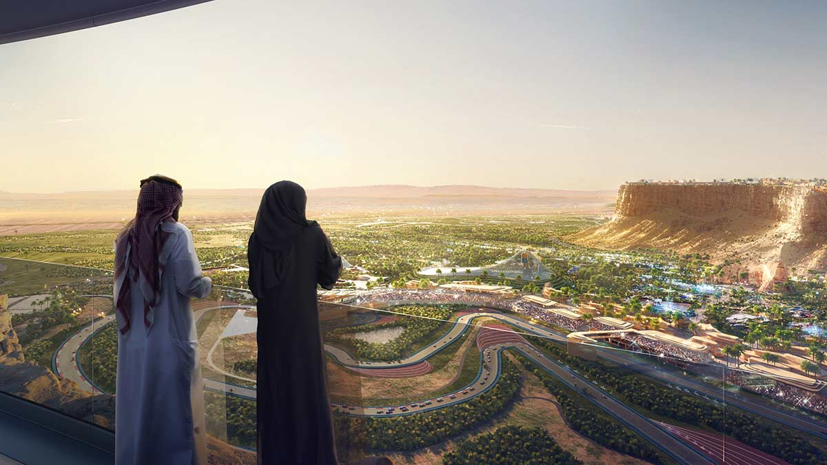 THE SAUDI ARABIAN GRAND PRIX ON 2021