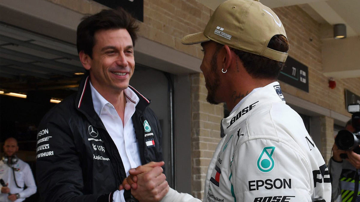 TOTO WOLFF : I'LL KEEP HAMILTON BY MY SIDE