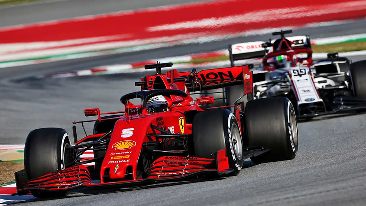 BARCELONA TEST 5 F1 2020: MERCEDES HITS ISSUES AND VETTEL FASTEST