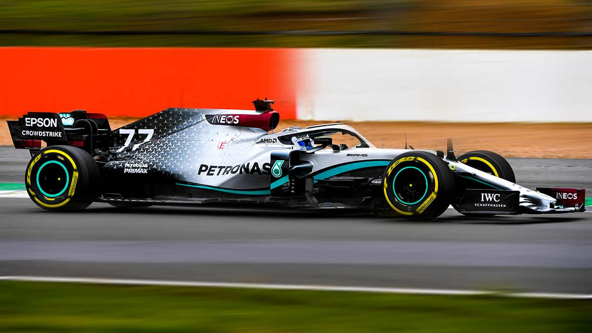 MERCEDES W11 HAS MADE ITS ON-TRACK DEBUT