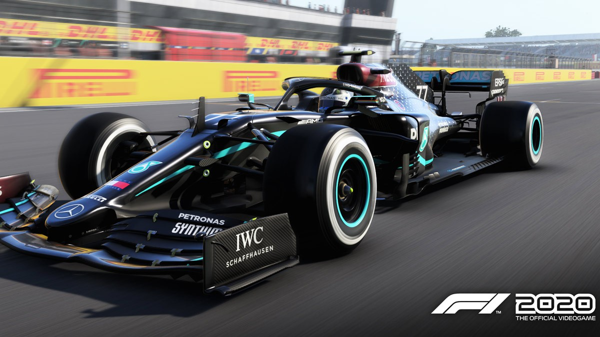 f1 2020 the black livery of the mercedes w11 has been added to codemasters game