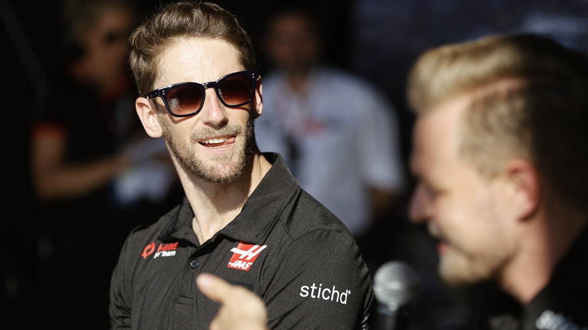 ROMAIN GROSJEAN : WE HAVE TO BE REALISTIC