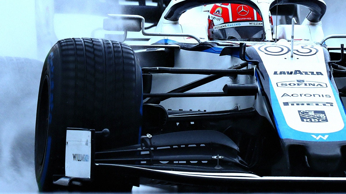 RUSSELL AND LATIFI EXPECTED BETTER FROM FW43