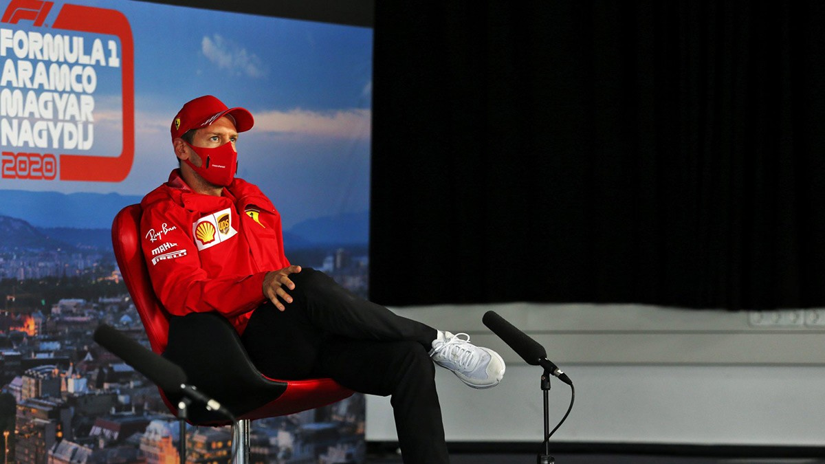 VETTEL : RUMOURS ARE CALLED RUMOURS FOR A REASON