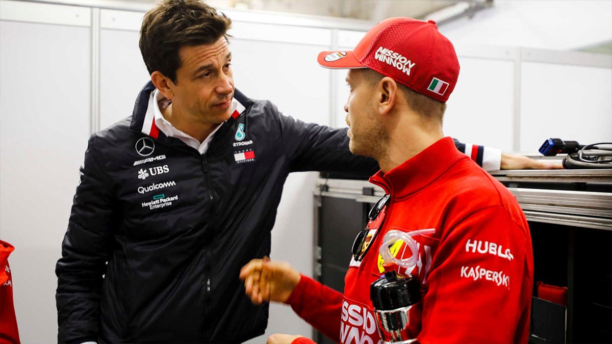 Wolff About Vettel It Is Lawrence-s Decision Important Marketing Tool for Aston Martin F1