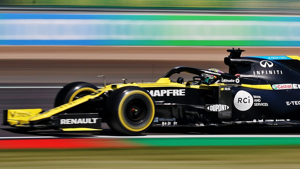 F1 RENAULT DISCOVERS CRACK IN RICCIARDO CHASSIS