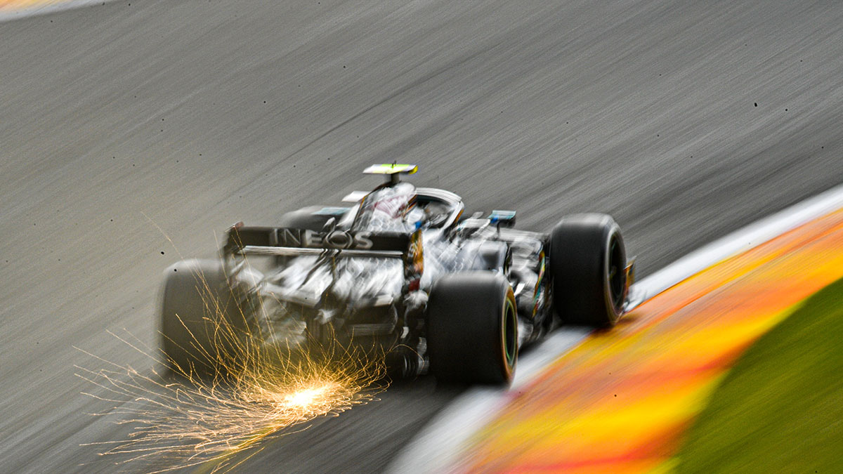 HAMILTON LEADS OCON AND NORRIS OF FINAL PRACTICE FOR BELGIAN GP