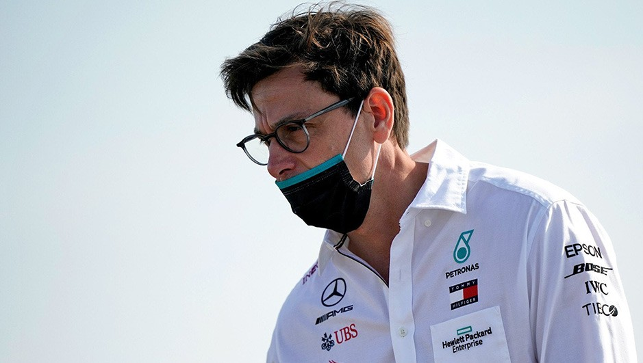 TOTO WOLFF HAS BEEN BROUGHT IN AS A MEDIATOR IN THE RACING POINT CASE