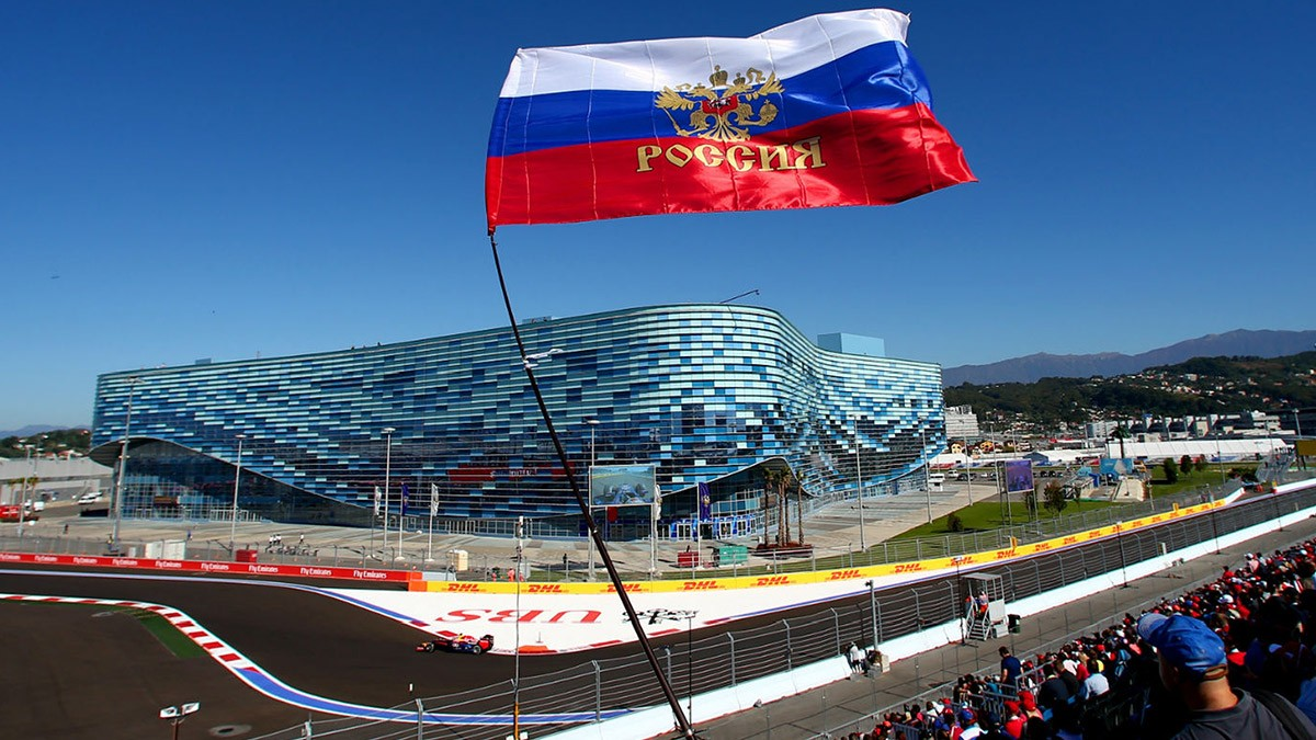 F1 30000 SPECTATORS PRESENT AT THIS WEEKEND RUSSIAN GP