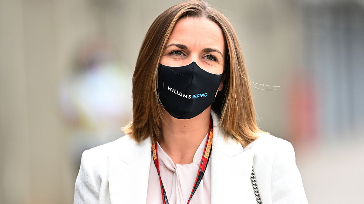 F1 CLAIRE WILLIAMS QUITTE L ECURIE FAMILIALE