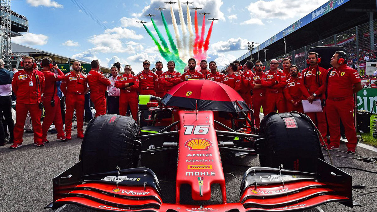 F1 MONZA 2020 ITALIAN GP WEATHER FORECAST AND TIMETABLE