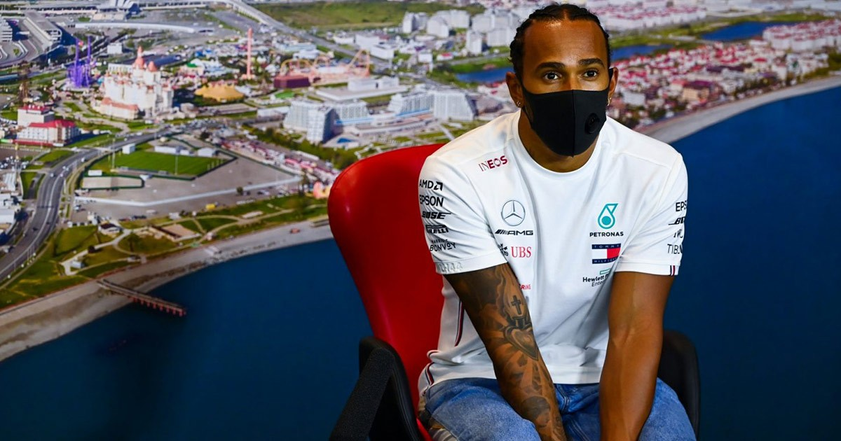 HAMILTON SURPRISED BY GAP TO RED BULL