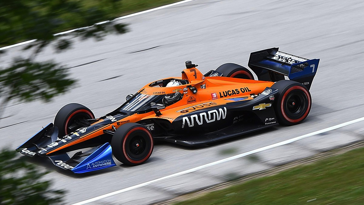 MCLAREN WOULD SIGN PEREZ FOR ITS INDYCAR TEAM