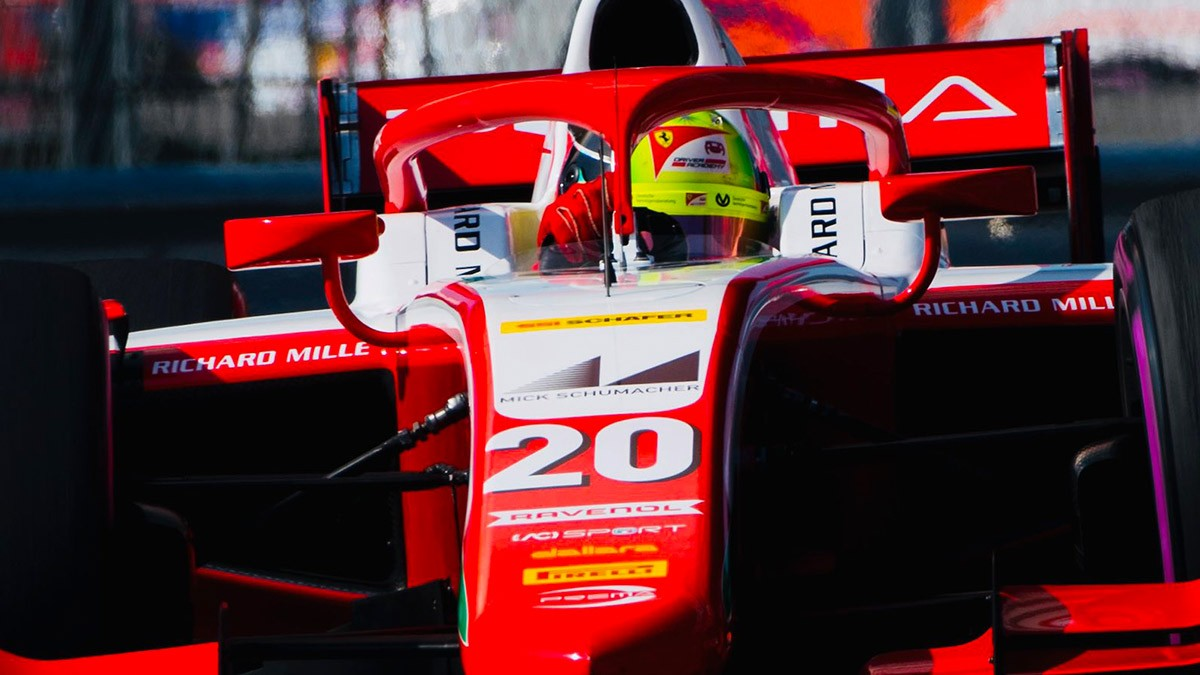 SCHUMACHER TAKES BIG STEP TOWARDS F2 TITLE WITH VICTORY