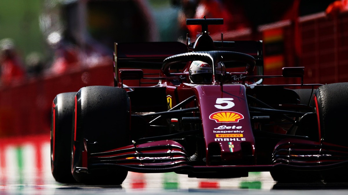 VETTEL CAN T GET THE SF1000 UNDER CONTROL