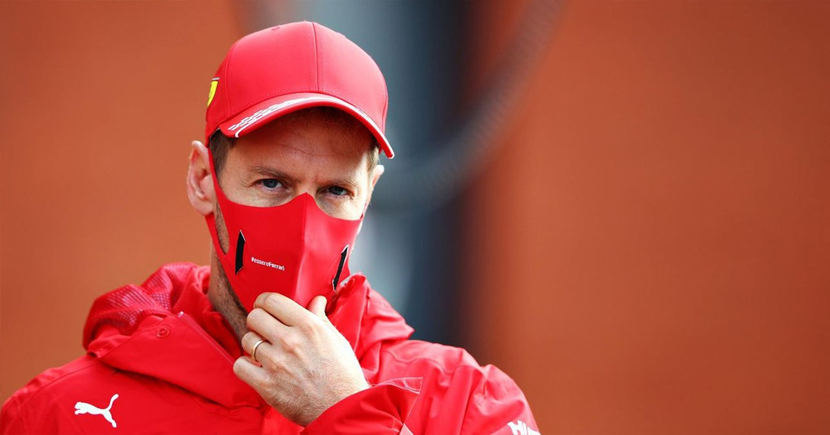 VETTEL WITH PLENTY OF AMBITION