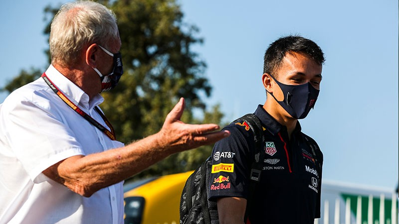 MARKO WARNS ALBON IF HE DOESN T IMPROVE PEREZ AND HULKENBERG ARE HERE