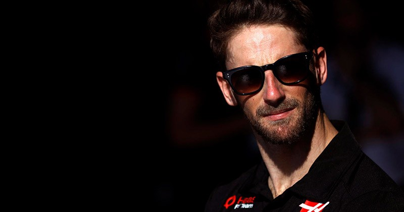 OFFICIAL GROSJEAN LEAVES HAAS AT THE END OF 2020