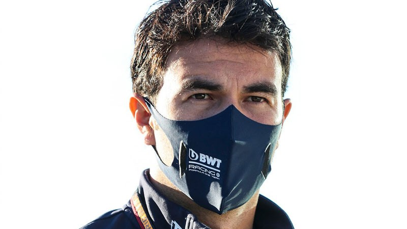 PEREZ RECEIVES REPRIMAND AFTER QUALIFYING