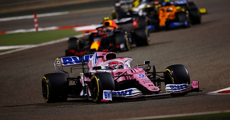 AN EXCELLENT RACE DRIVE AT BAHRAIN - PEREZ WOULD BE AN ASSET FOR ANY TEAM