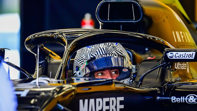 FIRST DAY OF TESTING WITH RENAULT IN BAHRAIN