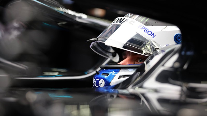 HAD SIX SPINS AND WAS LAPPED BY HAMILTON BOTTAS THAT WAS A TRICKY DAY
