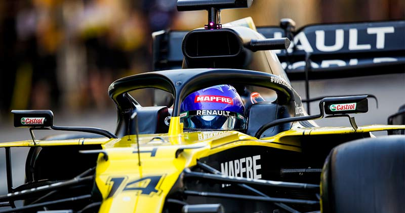 ALONSO FASTEST IN F1 ABU DHABI YOUNG DRIVER TEST