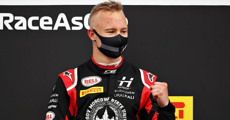 BREAKING NEWS hAAS CONFIRMS MAZEPIN