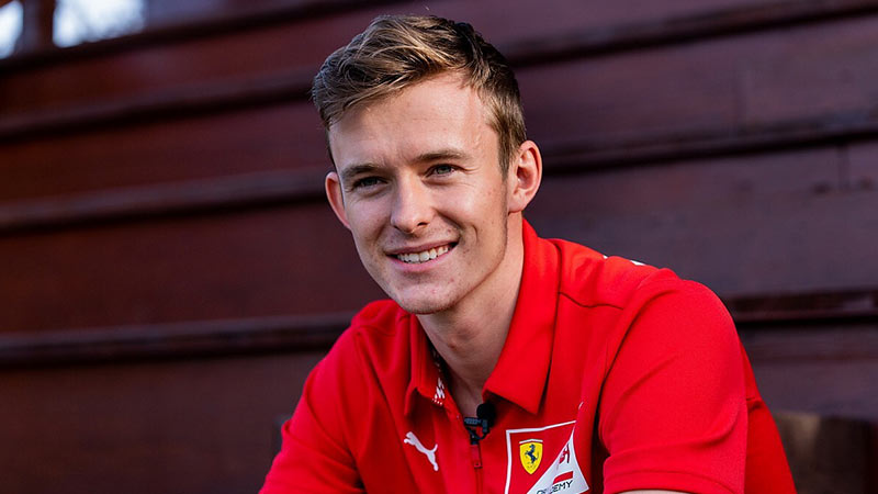 ILOTT HOPES FERRARI WILL GIVE HIM A CHANCE IN FREE PRACTICE
