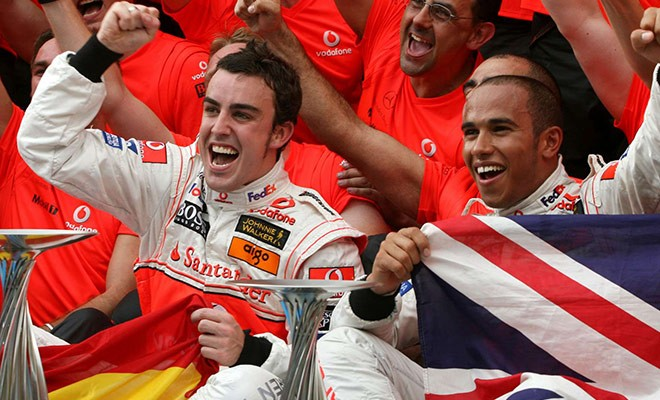 ALONSO ON WHO IS BETTER HE OR HAMILTON