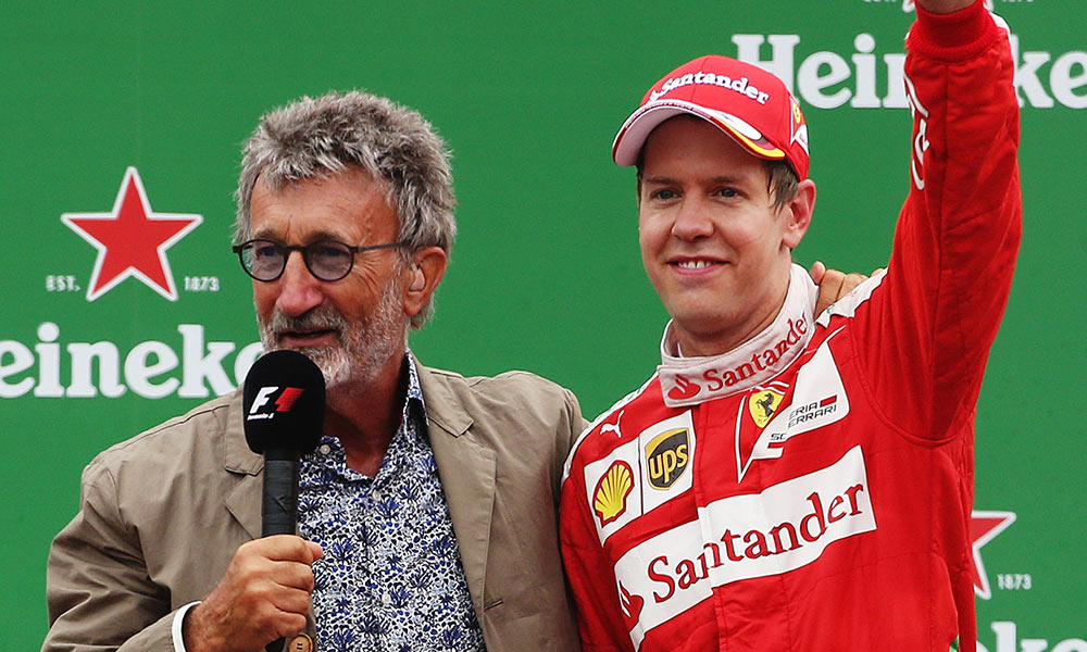 ASTON MARTIN MADE A MISTAKE WHEN SIGNING VETTEL - EDDIE JORDAN