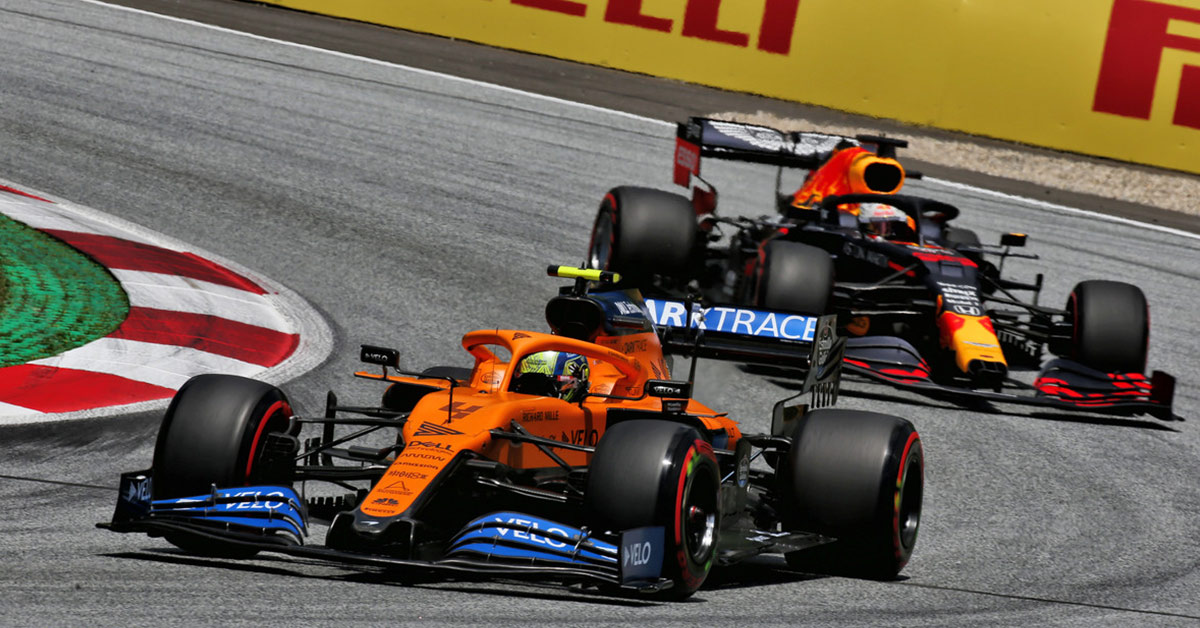 CAN MCLAREN KEEP CUTTING THE GAP TO RED BULL AND MERCEDES