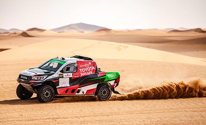 DAKAR 2021 STAGE 10 - AL RAJHI WINNER AT AL ULA