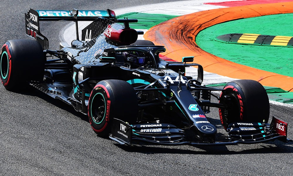 MERCEDES WITH BLACK LIVERY IN 2021 SEASON!