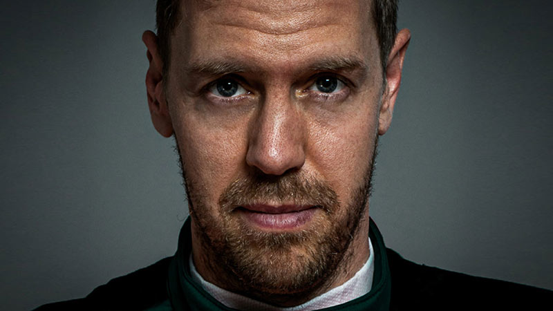 VETTEL CLEARLY MOTIVATED TO DRIVE A GREEN CAR ASTON MARTIN F1 TEAM