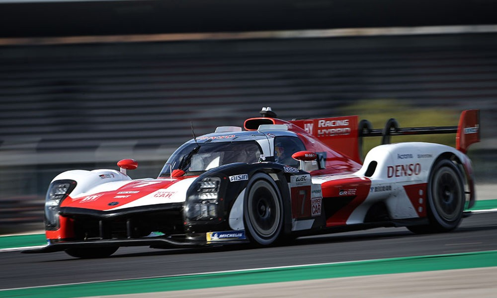 WEC OFFICIAL - FIRST LOOK AT TOYOTA LE MANS HYPERCAR