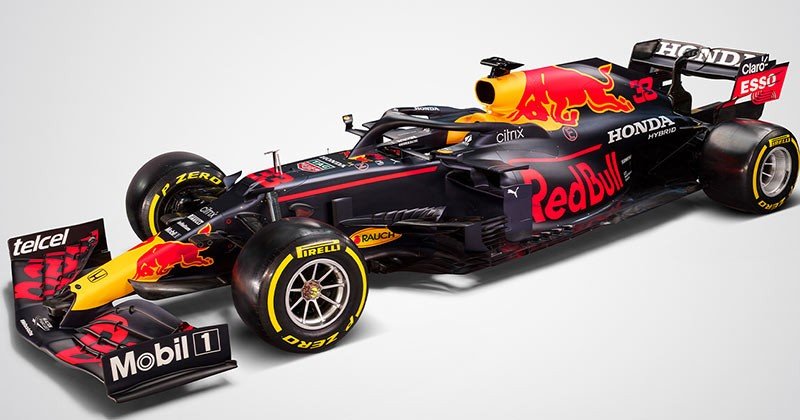 BREAKING FORMULA 1 2021 - RED BULL UNVEILS RB16B