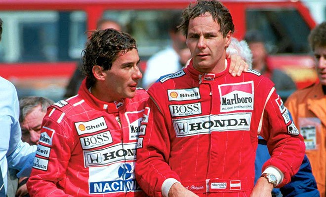 FORMER FERRARI DRIVER - SEES BETWEEN MAX AND CHARLES THE SAME RIVALRY OF SENNA AND PROST