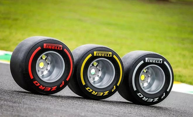 FORMULA 1 2021 SEASON - PIRELLI UNVEILS TIRE CHOICES FOR ALL 23 GPS