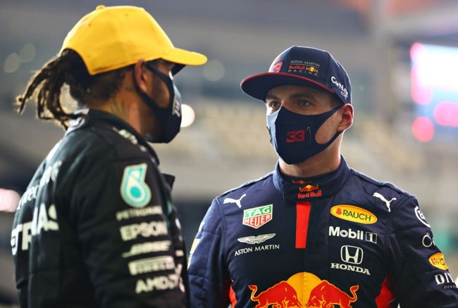 MAX VERSTAPPEN NOT THINKING ABOUT CHANCE TO REPLACE LEWIS IN 2022