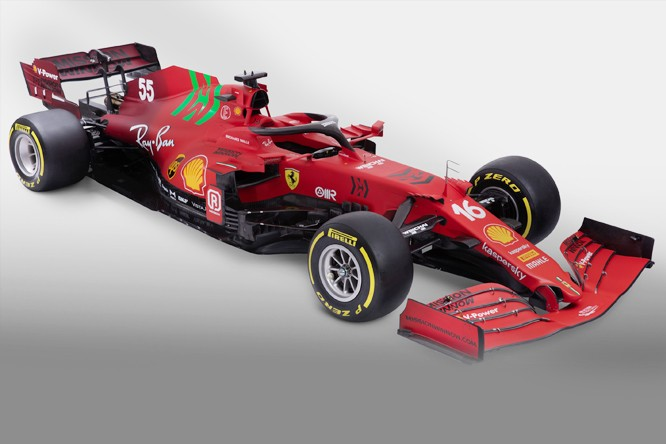 FERRARI SF21 - ENGINE CHANGES AND NEW REAR END REVEALED