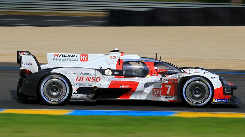 Toyota triumphs in a one-two finish at the 24 Hours of Le Man